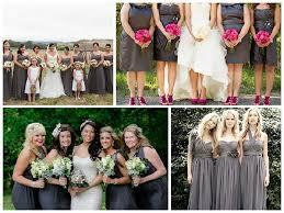 charcoal grey bridesmaid dresses shades of grey bridesmaid dresses