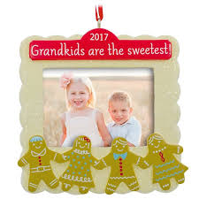 grandkids are the sweetest 2017 picture frame hallmark ornament