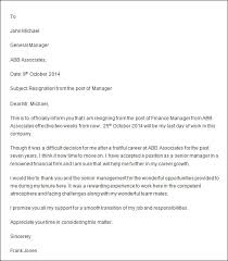 resignation letter format simply resignation letter email subject