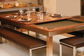 fusion pool dining table metal fusion table by aramith