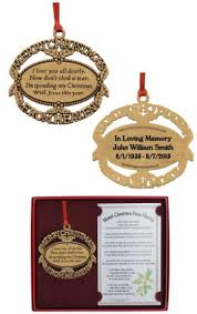 gold from heaven ornament customized