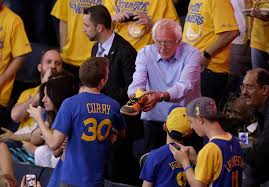 bernie sanders pulls slam dunk at nba game ken walsh u0027s