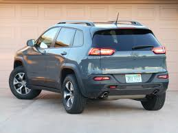 jeep trailhawk 2013 test drive 2015 jeep cherokee trailhawk the daily drive
