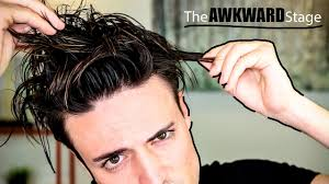 growing out your hair how to deal with the awkward stage youtube
