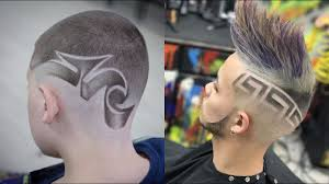 Guys Haircuts Design The Great Barber In The World Youtube