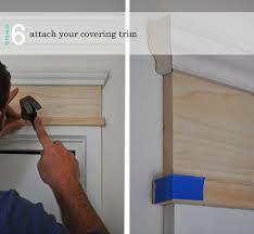 painting door frames diy adding moulding to door frames the painted hive house