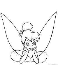 peter pan u0026 tinker bell coloring pages 2 disney coloring book
