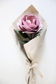 flower gift single flower bouquet handmade by
