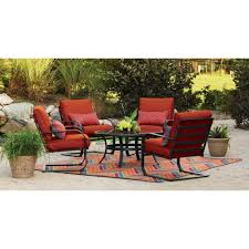 5 patio set furniture cozy outdoor furniture design with mainstays patio