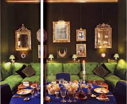 in decorous taste wall of mirrors