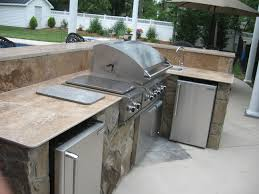 kitchen stainless outdoor kitchen appliances combined with modern