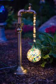 outdoor mushroom lights 17 backyard lighting ideas best lighting ideas for wonderful