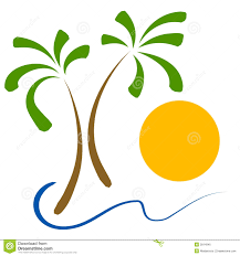 beach sunset palm tree clip art u2013 clipart free download