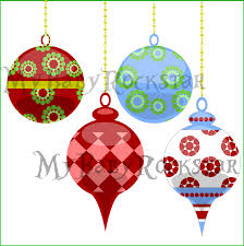 clipart tree ornaments clip for