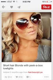 low lights for blech blond short hair blonde with peekaboo lowlights for my hair pinterest blondes
