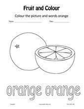english kids esl kids fruits u0026 colours worksheets