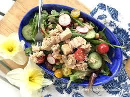 Tuna Salad Mediterranean Style Spring Salad With Tuna And Lemon Vinaigrette Pine Needles In My