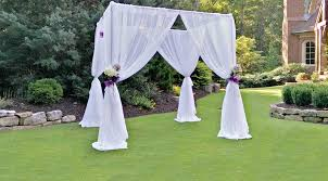 chuppah canopy wedding chuppah rental iowa city cedar rapids ia draping
