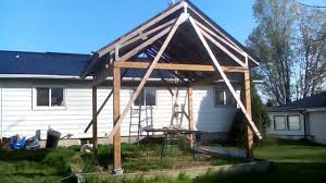 how to build a shed on a slope youtube