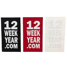 12 week year book products the 12 week year