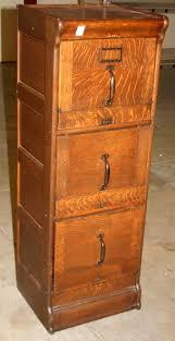 Antique Oak File Cabinet Endearing Vintage Wood File Cabinet With Cool Wooden Filing