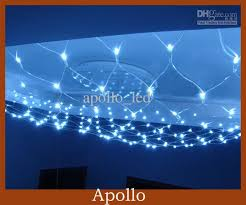 cheap led net lights 1 5m 1 5m curtain light string meshwork