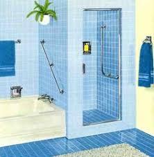 blue bathroom tile ideas 60s blue bathroom i actually like the idea of the sink vanity
