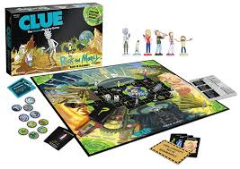 rick and morty clue board game awesome stuff to buy