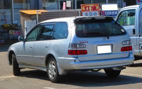 toyota corolla touring wagon file toyota corolla wagon 1 6 l touring limited s 4wd ae104g 0253
