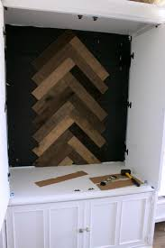 home depot design connect online kitchen planner upgrade an old armoire in weathered wood herringbone