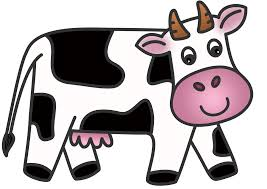 cow calf outline drawing clipart clip art library
