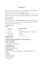 membuat proposal bazar contoh proposal musik image collections proposal template design