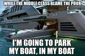 Boat People Meme - this guy parks his yacht in his yacht the independent