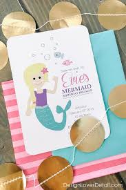 diy mermaid birthday party ideas by design loves detail