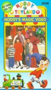 noddy noddy u0027s magic video vhs colin spaull gloria johnson