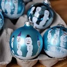 diy snowman handprint ornaments add a poem these aren t just five