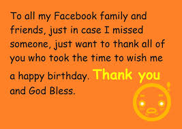 birthday thanks message for family thanks for the birthday wishes