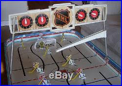 Table Top Hockey Game 1960s Eagle Coleco Toys Nhl Stanley Cup 5330 Table Top Hockey Game