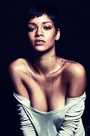 i think rihanna recognizes the most beautiful part of a women is