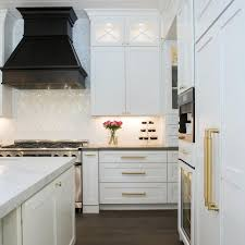 white kitchen cabinets with gold pulls photos hgtv