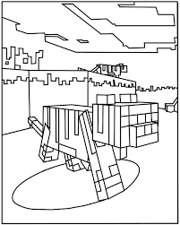 minecraft coloring pages ocelot free printables minecraft