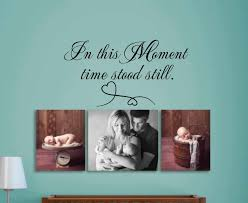 in this moment time stood still wall decal wall art wall