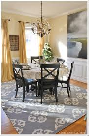 how to decorate your dining room sand and sisal