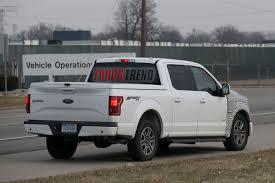 future ford trucks spied ford f 150 plug in hybrid