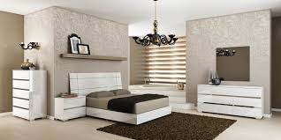 Acrylic Bedroom Furniture by Vivente Icon White High Gloss Platform Bedroom Set From Star