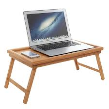 luxurious breakfast in bed bamboo lap tray laptop desk kids