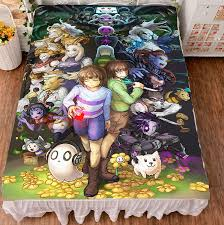 Good Bed Sheets Game Undertale Hd Print Anime Milk Wire Good Bed Sheet Birthday
