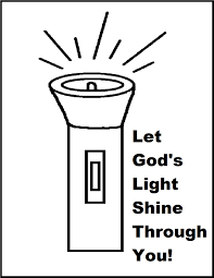Light Of The World Coloring Pages Light Coloring Page