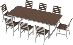 elan furniture kinzie 9 piece dining set u0026 reviews wayfair