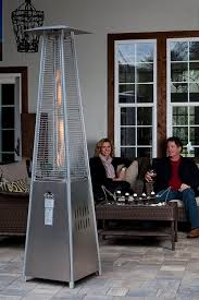 Decorative Patio Heaters by Amazon Com Fire Sense Stainless Steel Pyramid Flame Heater